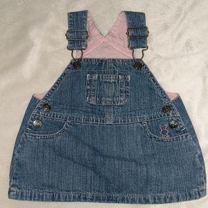 Koala baby overall denim skirt 0-3 months